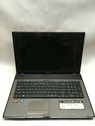 Acer 7551 7442 Laptop For Parts Repair Does not power On NO HDD RAM Charger JR $35.00