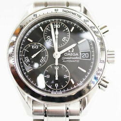 Omega Automatic Menand039s Watch Chronograph 3513.50 From Japan N0923