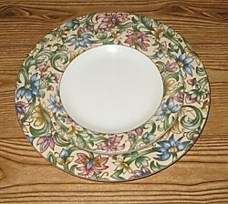 Set Royal Doulton Every Day Jacobean 10 5/8 Dinner Plate 8 Salad Plate 1996