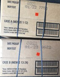 Mre Case A And B 2023 Inspection Date 12 Meals In Each Case Best Deal Around