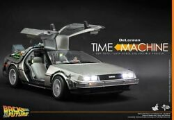 Back To The Future Delorean Hot Toys 1/6 Mms260 Car Sideshow Not Life Size Prop