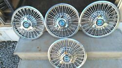 Ford Mustang 14 Hubcaps Wire Wheel Covers 1965-1966
