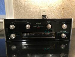 Mint Boxed Mcintosh Ma6100 Pre Amplifier Amplifier And Ownerand039s Manual
