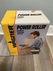 Wagner Power Roller Cordless Paint Painting System Used No Roller
