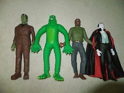 Universal Monsters Complete Set 4 14-15 Inch Large Hamilton Gifts Figures New