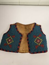 Beaded Sioux Baby Vest