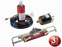 Boat Hydraulic Steering System Up To 350 Hp Outboard Hydrodrive Yamaha Suzuki