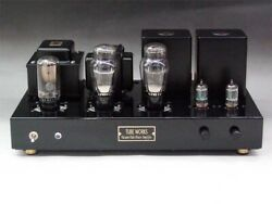 New Tube Works Rca 2a3 Single Amp Kit Finished Product Pearl Black Chassis