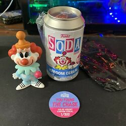 Funko Pop Soda Kaboom Cereal Clown Variant Color Chase 1/500 Funkon Exclusive