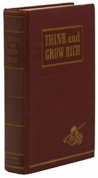 Think And Grow Rich Napoleon Hill First Edition 1st Printing 1937