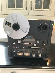 Mint Tascam 32 2 Track 2 Channel Stereo Reel To Reel Tape Deck Recorder