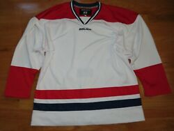 2012 Bauer Team Hockey Youth Med Jersey W/ Fighting Strap Montreal Canadiens