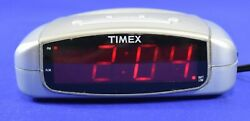 Timex Extra Loud Alarm Clock w Battery Backup Model T109S Tested Working #3863
