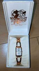 Sailor Moon Wicca Wristwatch Clock Collaboration Limited Editionex Condition