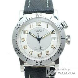 Longines Weems L2.608.4 Automatic Stainless Steel Silver Dial Menand039s Watch[u0928]