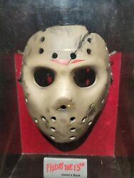 Friday The 13th Jason Voorhees Prop Replica Mask Neca 1 Of 1 Read Description.