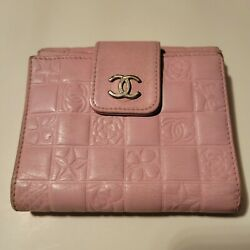 Price Reduced 25andnbsp Folded Leather Pink Wallet