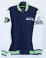 Nfl G-iii Seattle Seahawks 2013 Super Bowl Xlviii Champions Quilted Jacket - Xl