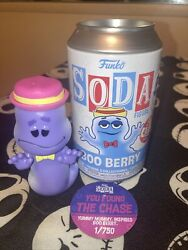 Funko Soda Boo Berry Chase Limited Edition 750 Pc