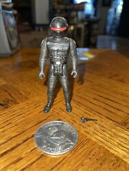 Vintage 1985 Star Wars Potf Imperial Gunner Last 17 Complete W/coin And Repro Gun