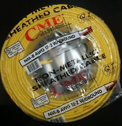 12/2 Romex Wire 12-2 Awg 250ft Non Metallic Cable Copper Electrical Wire 250and039
