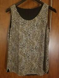 LEOPARD REVERSIBLE SHELL SIZE SMALL FOR $2.49 $2.49