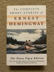 The Complete Short Stories Of Ernest Hemingway 2003 Scrubber Tpb Brand New