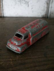 Tootsie Toy 15.3 Cm Texaco Cast Iron Toy Tanker Truck Made In Usa 1940s Antique