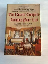 The Kovelsandrsquo Complete Antiques Price List 8th Edition Ralph And Terry Kovel