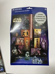 Set 15x 2007 Fdc First Day Issue Covers Star Wars And 15 Stamp Sheet 41 Cent