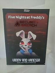 Five Nights At Freddy's Vanny And Venessa Collectible Statue 12 Inches Rare
