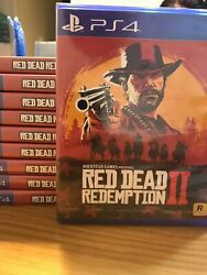 In-stock Now Red Dead Redemption 2 Playstation 4 Ps4 Eng/chinese Ver.