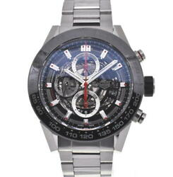 Tag Heuer Carrera Car2a1w-0 Back Skelton Gray Dial Automatic Mens Watch I106960