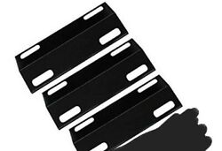 Porcelain Steel Heat Plate Replacement For Ducane Gas Grill 3 Pack 15 3/8 X 6