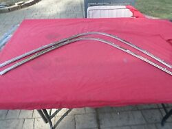 1965 Chevrolet Impala Convertible Ss Pinch Well Boot Snap Moldings Pontiac Olds