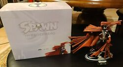 Spawn And039the Beginningand039 Sold Out Resin Statue Todd Mcfarlane Toys Image Rare 490