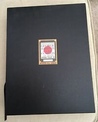Signed George Harrison Live In Japan Genesis Publications Limited Edition Book.