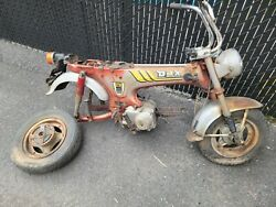 Honda Dax St50 1978 St50g Amazing Project Extremely Rare Mini Trail Ct70 Z50