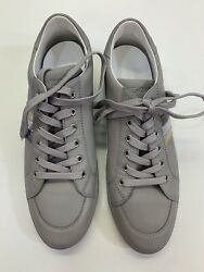 Dolce And Gabbana Sport Mens Leather Sneakers, Size 8 7uk