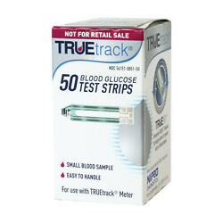 50 Boxes True Track Blood Glucose Total Of 2500 Test Strips Exp 03/15/2023