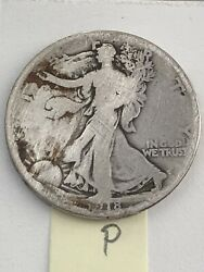 9 1918-1935 Walking Liberty Halves. 18p20s33s34pds35pds.andnbsp Photos 4 Condition