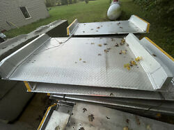 """Bandp Manufacturing 84"""" X 54"""" New Aluminum Dock Plate 25000 Pound Capacity"""