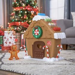 Step 2 My First Gingerbread House Toy Usa Christmas Holiday Toddler 18m+ New