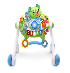 Baby Walker Toy Infant Play Car Gym Floor Playset Cart Learning Interactive Toy