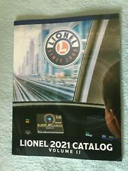 Lionel 2021 Catalog Volume 2 - O Scale O Traditional And More - New