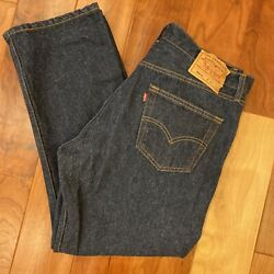 Vintage 501xx Button Fly Denim Jeans Made In Usa 38 X 30 Shrink To Fit
