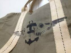 Vintage 1930and039s Wwii Us Navy Boston Bag Collection Very Rare