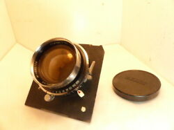 Rare Large-diameter Planner 135 Mm F3.5 With 4 X 5 Board
