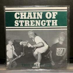 Used Chain Of Strength Ture Till Death 3rd Nyhc Record 3rd Press Ltd300