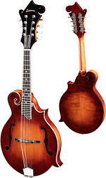 Eastman Md515/v Classic Finish F-style Mandolin With Case
